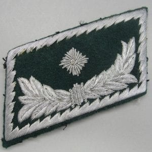 Customs Official Collar Tab