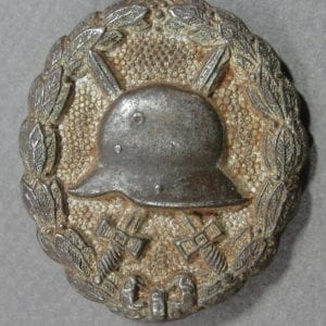 World War One Wound Badge, Silver Grade