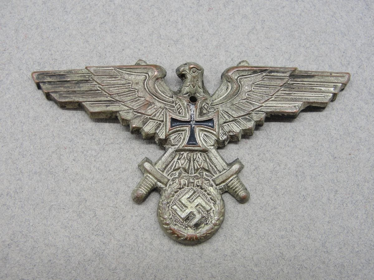 Veteran's Association Visor Cap Eagle - Some Damage