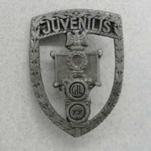 Italian Fascist Youth Badge
