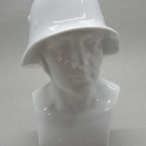 Porcelain German Soldier Bust