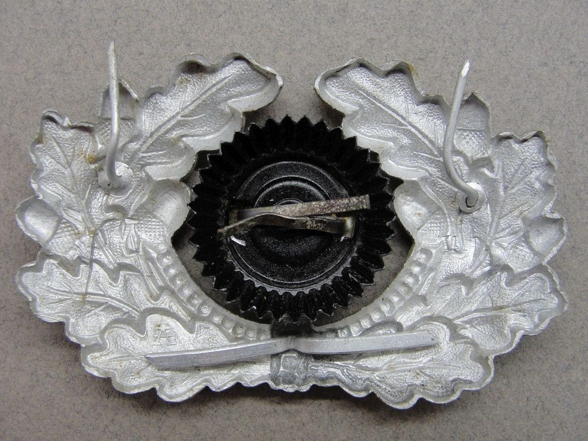 Army Visor Cap Wreath and Cockade