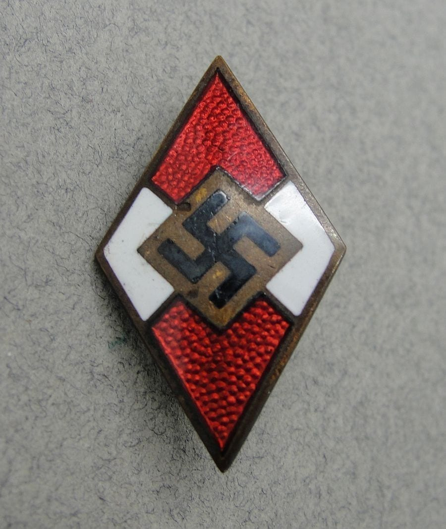 Hitler Youth Membership Badge by RZM M1/8