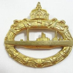 World War One German U-Boat Badge