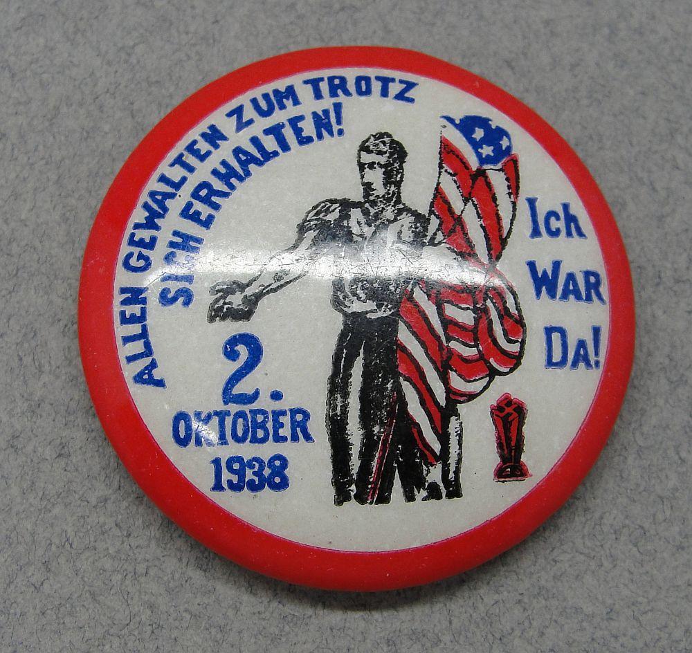 1938 German American Bund Badge