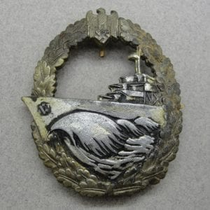 Kriegsmarine Destroyer Badge by Deumer