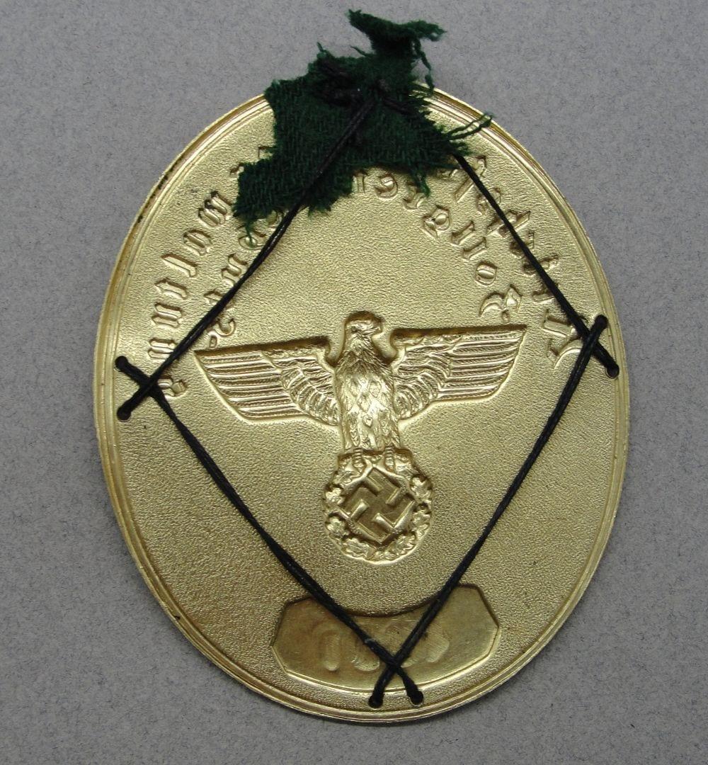 Customs Border Control Shield