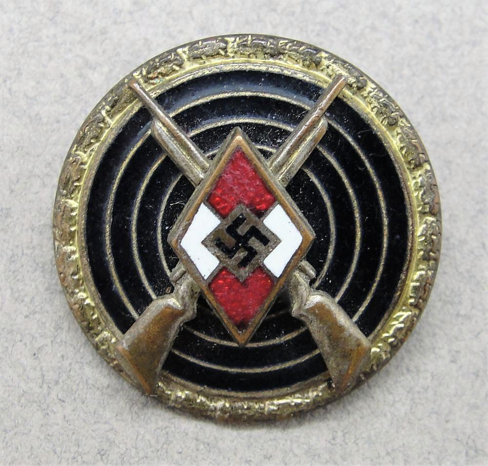 Hitler Youth Master Shooting Badge by RZM M1/63