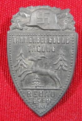 1926 Far-Right TANNENBERGBUND Badge