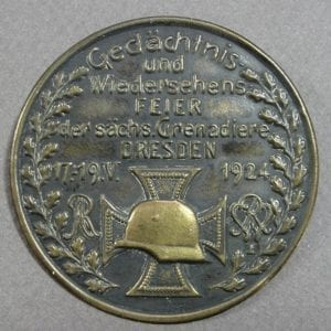 Large Saxony Grenadiers Badge