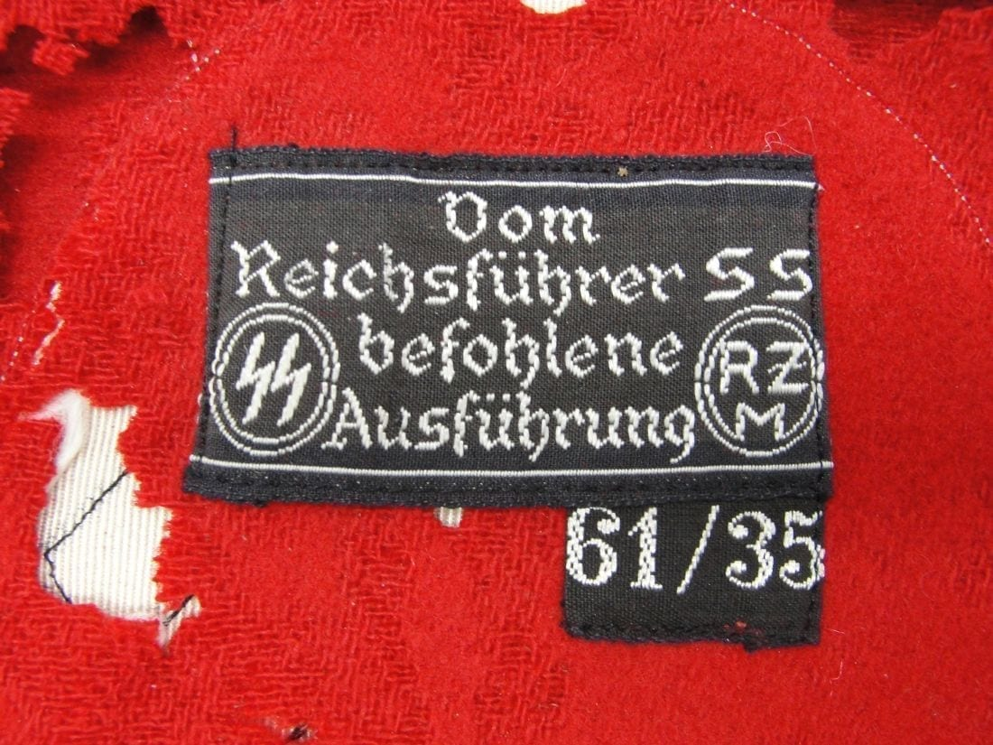 SS Armband with Cloth SS RZM Tags