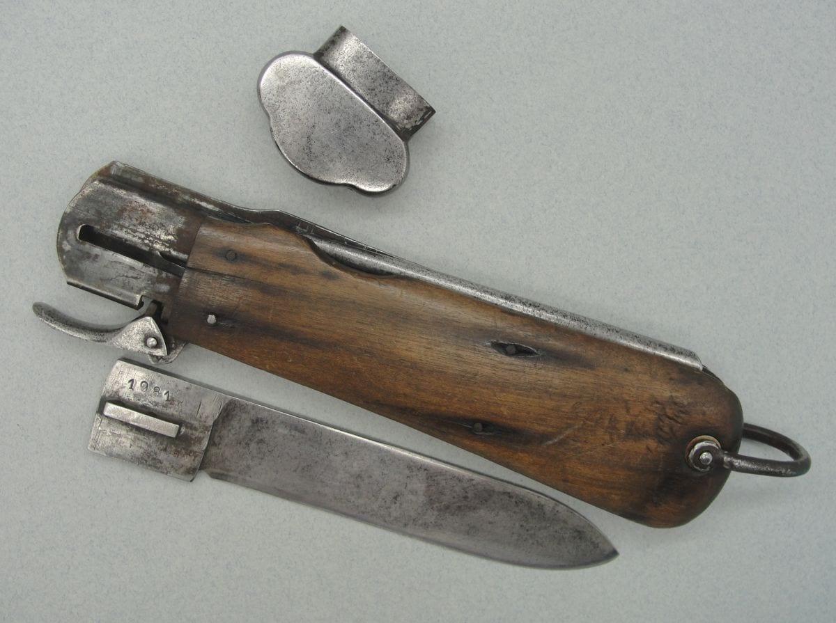 Luftwaffe Paratrooper Gravity Knife - Takedown Version