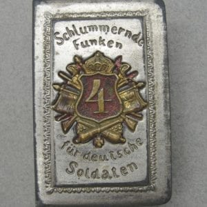 4th Artillery Regiment Matchbox Cover