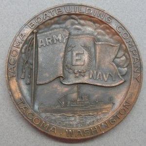 1942 Tacoma Boatbuilding Company Production Award