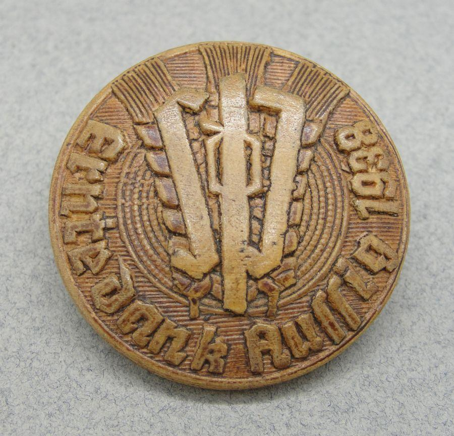 1938 Sudeten German Day Badge