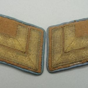 Pair of Political Leader's Collar Tabs
