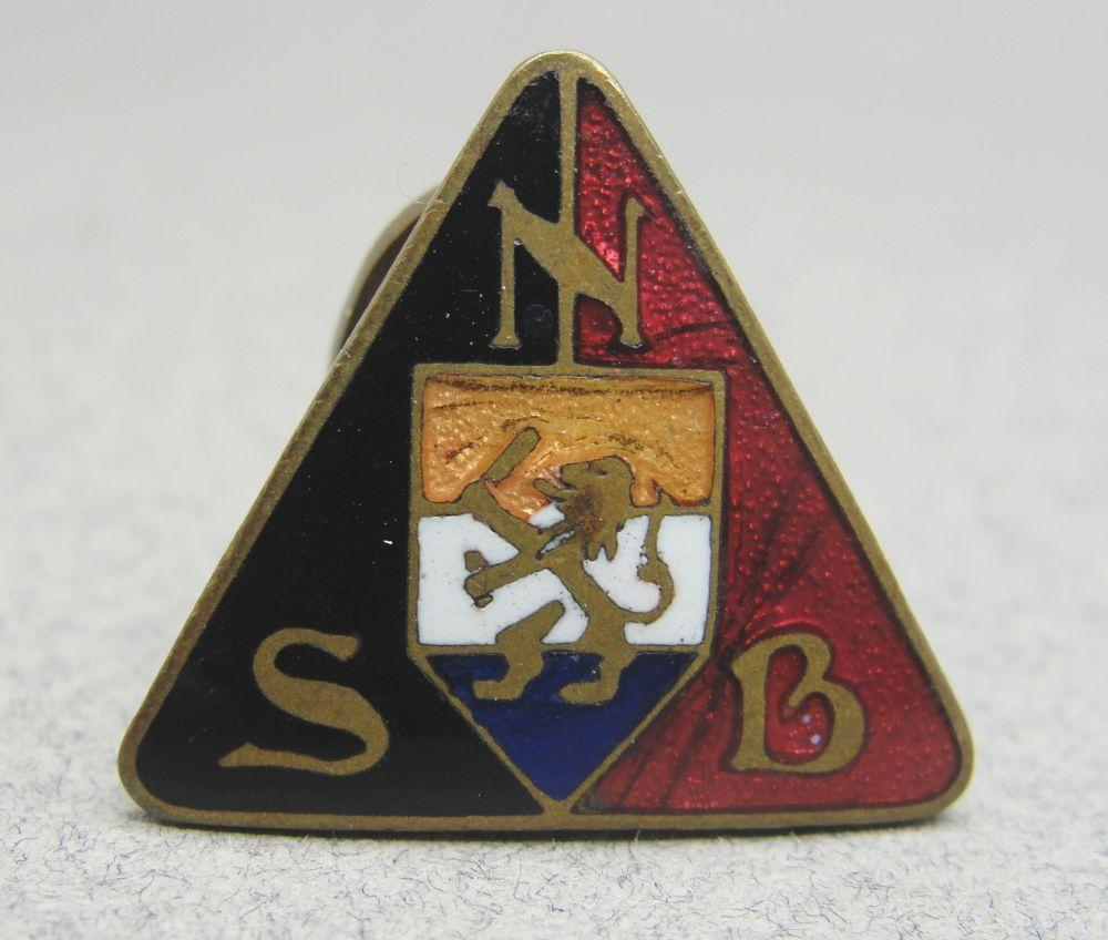 Dutch NSB Membership Badge - Lapel Version