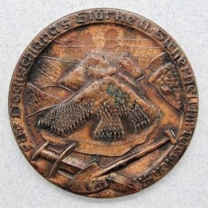 Table Medal for the Construction of Germany's Western Defenses