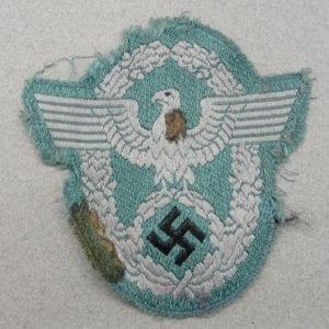 Police EM/NCOs Sleeve Eagle