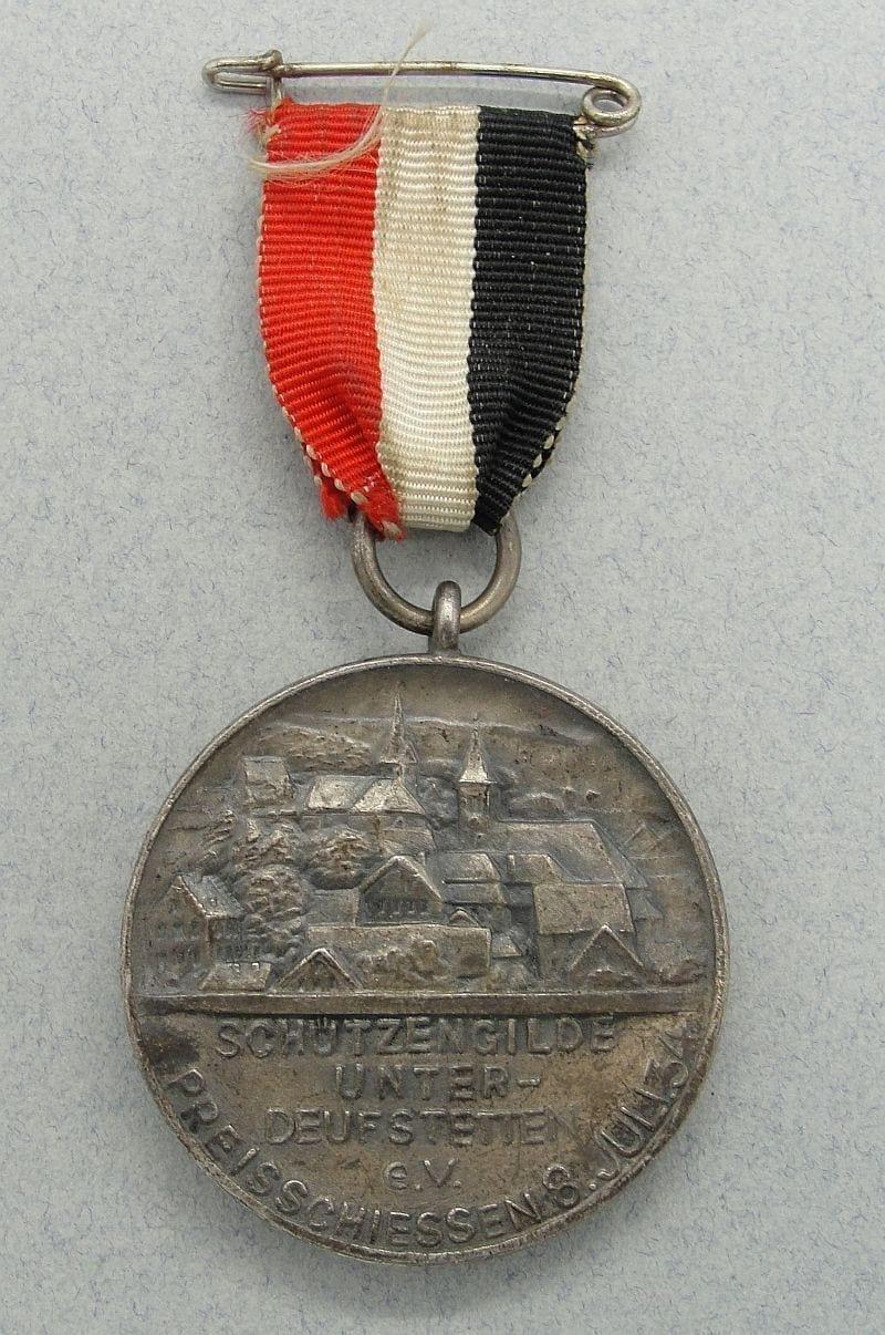 1934 Unterdeufstetten Shooting Medal