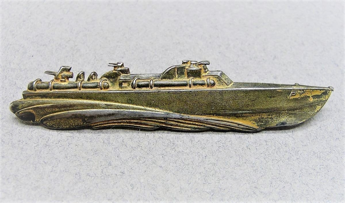 WW2 PT Boat Badge by ELCO