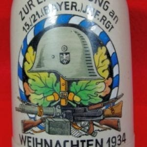 1934 Bavarian Infantry Regiment Mug