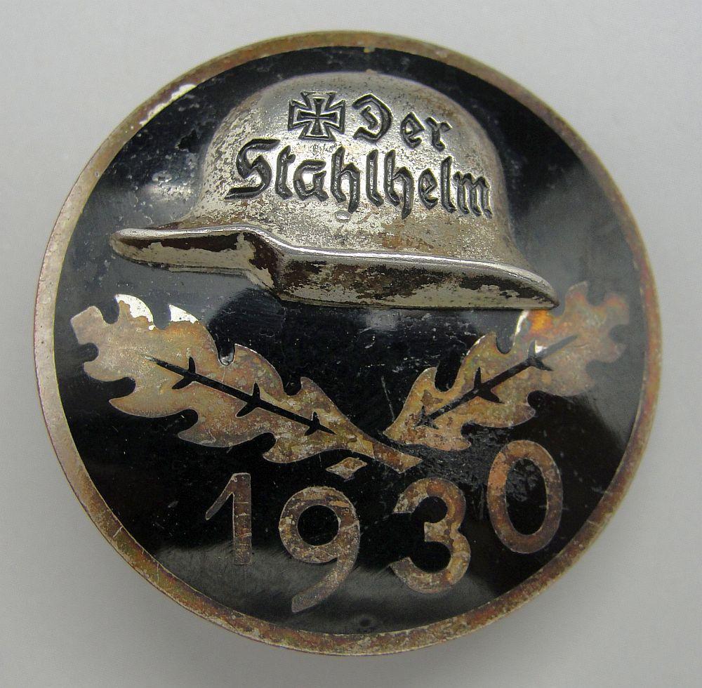 1930 Der Stahlhelm Badge