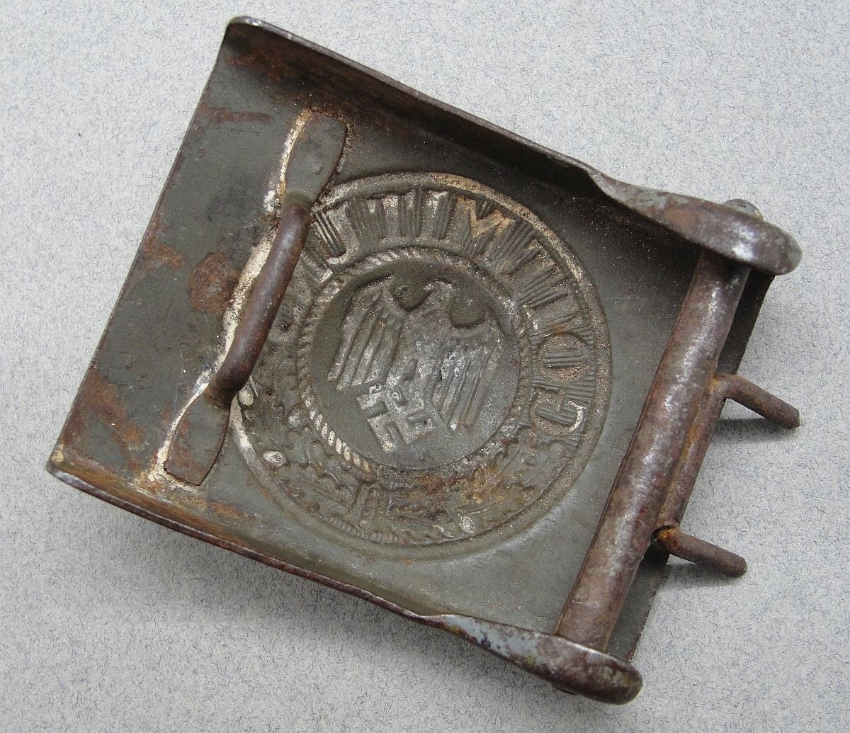 Army EM/NCOs Belt Buckle - Soldier Art