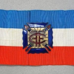 French Croix-de-Feu Armband