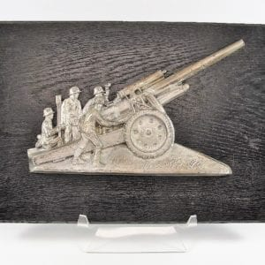 Third Reich Artillery Plaque