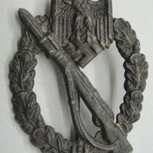 Army/Waffen-SS Infantry Assault Badge, Bronze Grade
