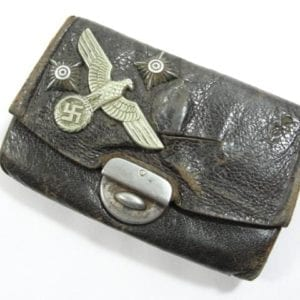 Souvenir Wallet with Various Insignia