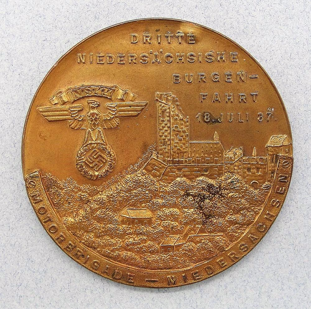 NSKK 1937 Table Medal