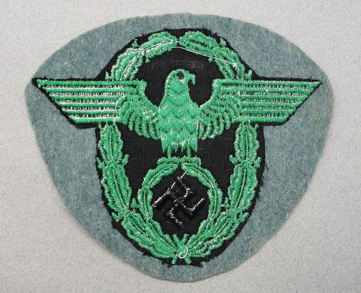 Police Saddle Blanket Eagle