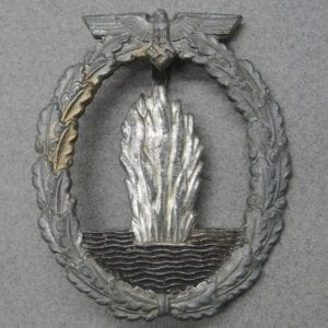 Kriegsmarine Minesweeper Badge by Forster & Barth