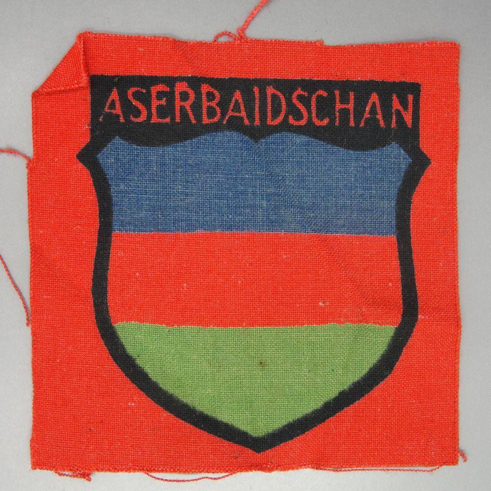 ASERBAIDSCHAN Foreign Volunteer Shield, Printed