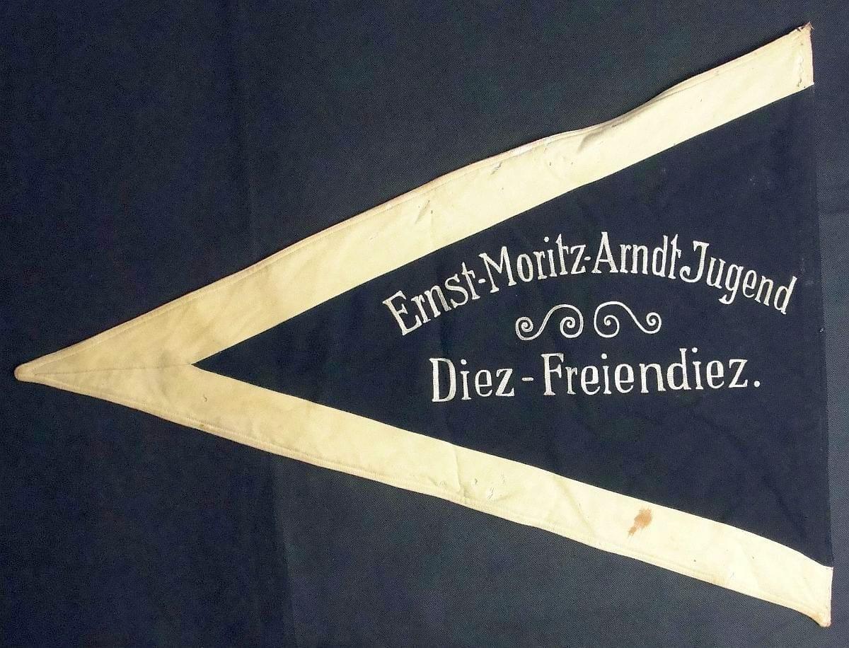 Ernst Moritz Arndt Pioneer of German Nationalism Pennant