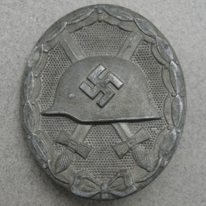 "1939 Wound Badge, Silver Grade by ""26"" B.H. Mayer"
