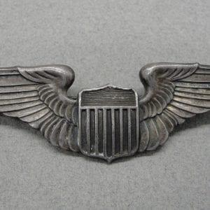 WW2 Pilot's Wings, Sterling Marked