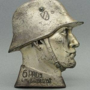 Desk Plaque to Machine Gunner