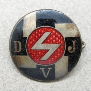 Hitler Youth Deutsches Jungvolk  DJV Membership Badge