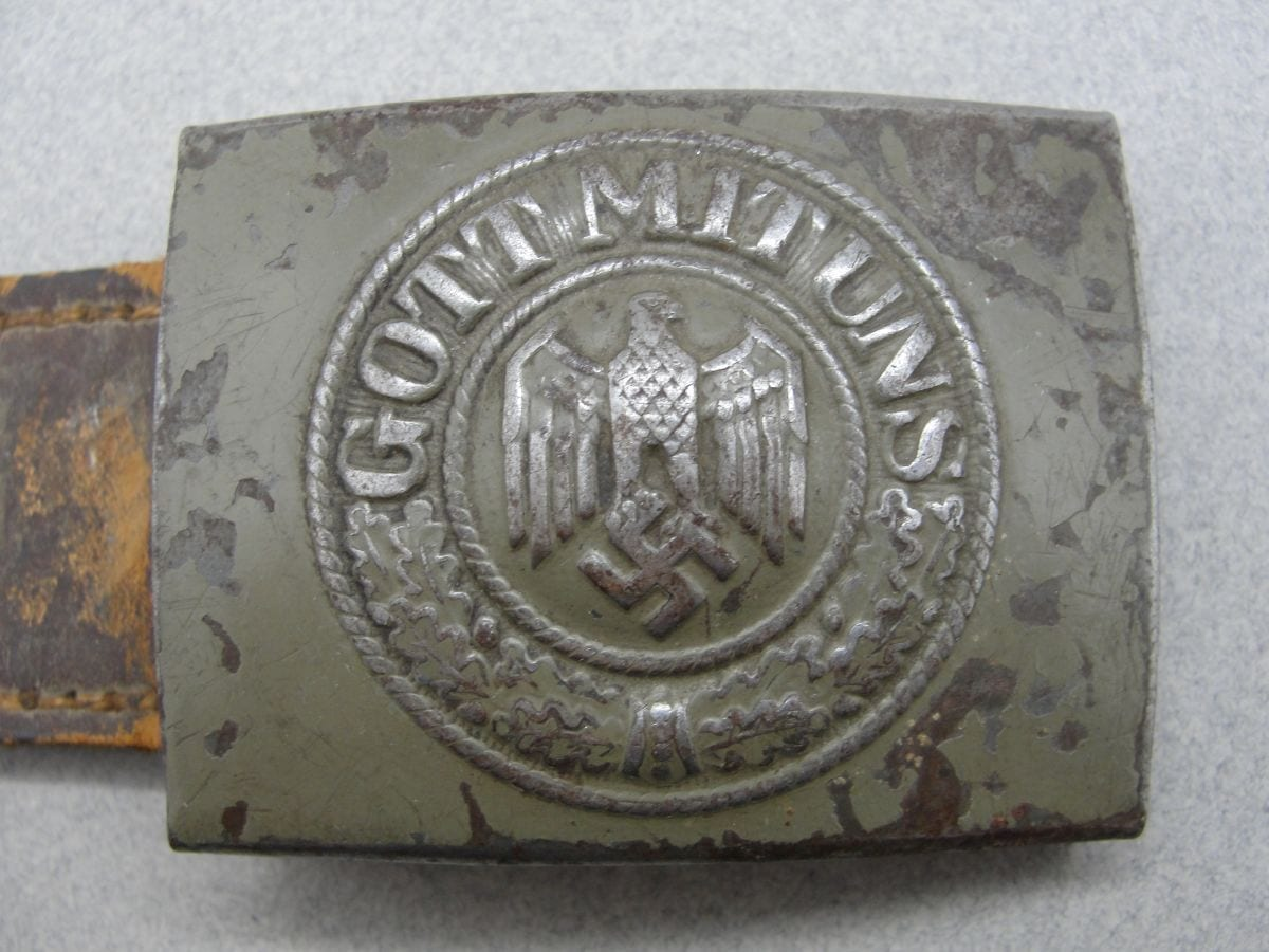 Army EM/NCOs Belt Buckle by Bruder Schneider