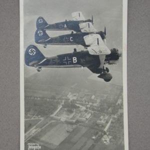 Luftwaffe Propaganda Card