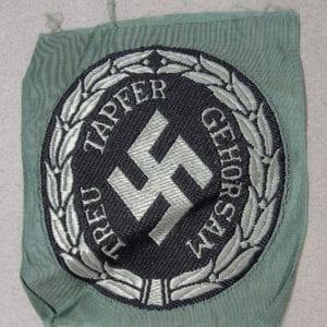 SCHUTZMANNSCHAFT (Schuma) Officers' Sleeve Insignia