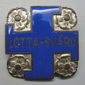 "Finland Female's Auxiliary Organization ""Lotta Svärd"" Badge"