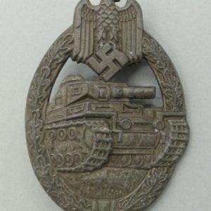 Army/Waffen-SS Panzer Assault Badge in Bronze