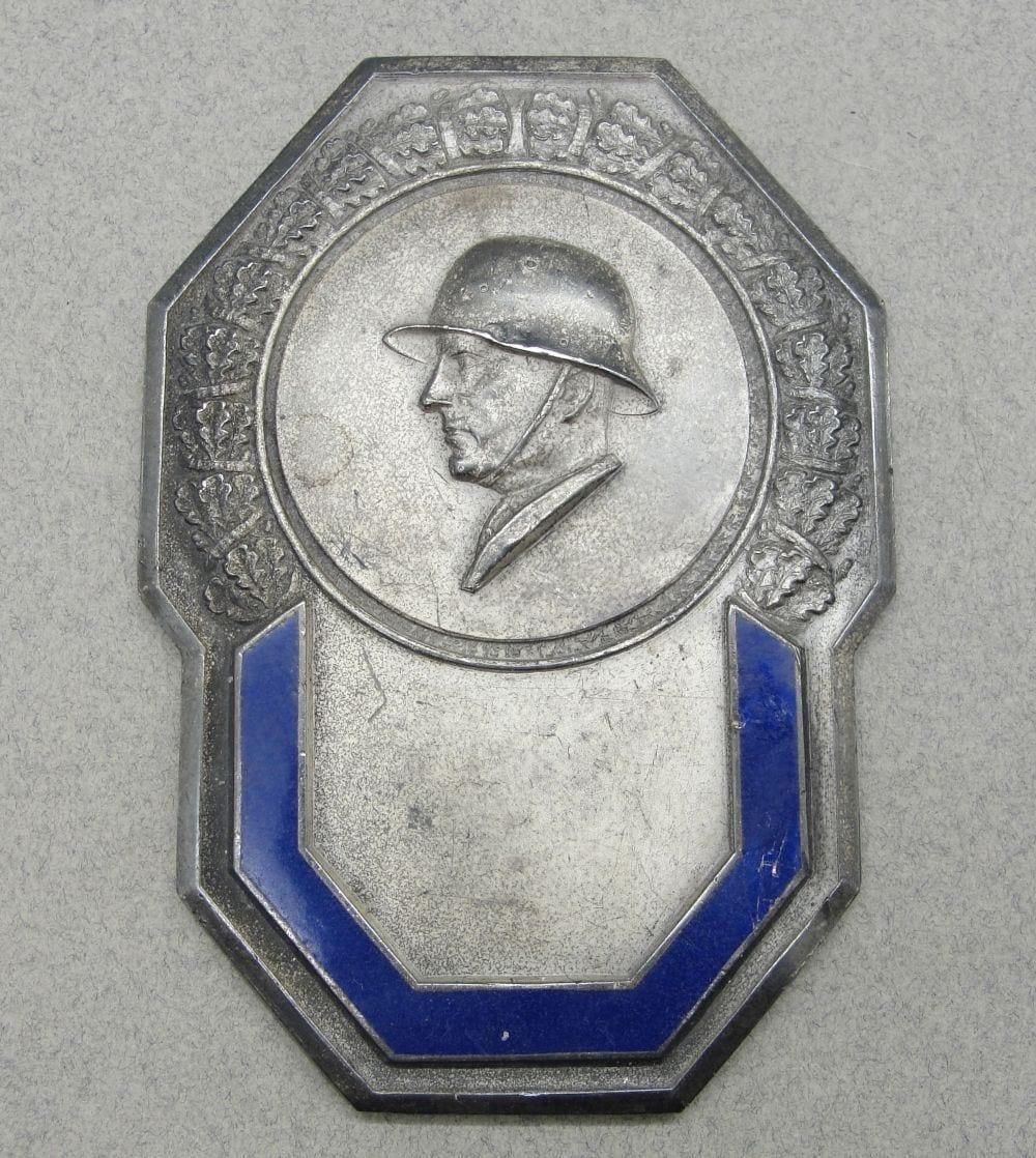 German Soldier Plaque