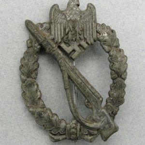 Army/Waffen-SS Infantry Assault Badge, Silver Grade