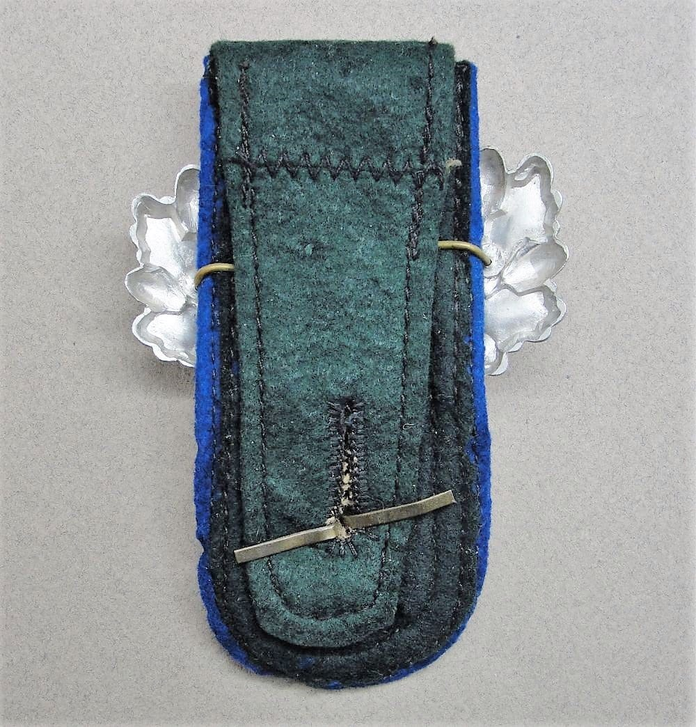 Army NCOs Strap with Vet's Souvenirs Pinned On