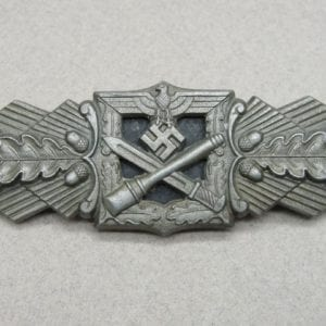 "Army/Waffen-SS Close Combat Clasp, Bronze Grade by ""F & B. L."""